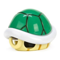 Super Mario Bros. Green Turtle Shell Cable Cord Organizer - Gamers rejoice! Now all those pesky cords and cables can be organized with one awesome Koopa shell.