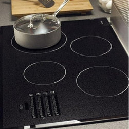 "Dacor - METB3651BG Discovery 36"" Electric Cooktop with 5 Ribbon Elements  Ceramic Glass - As stylish as it is practical this model sports an entirely smooth surface made of glass which not only makes cleanup extremely easy but also ensures the finish will last year after year-just like this cooktop"