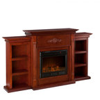 Monticello Wood Fireplace Mantel - Traditional - Indoor ...