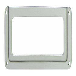 Hafele - Hafele: Label Frame: Steel: Nickel: 93 X 41mm - Hafele: Label Frame: Steel: Nickel: 93 X 41mm