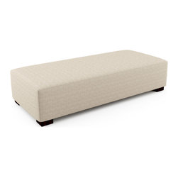 "Mento 81"" x 36"" Bench – Thick - Firm foam on this bench provides adequate support whether you are looking to sit or lay on this piece. The optional tufting and quilting for a finish lets you create the exact bench you want for your home or space.Viesso designs and manufactures this piece of modern furniture. All of the benches from Viesso, along with the sofas and sectionals, are built one at a time in Los Angeles in 3 weeks. With all the custom options available, they are truly built for you and your space.  A custom bench that's also an eco bench. Yes, it's that good."