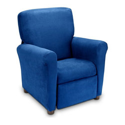 Ace Bayou - Urban Microfiber Childrens Recliner - Indigo - 6496801 - Shop for Recliners from Hayneedle.com! About Ace Bayou CorporationAce Bayou Corporation was founded in 1986 and has grown into a group of diverse lifestyle-focused divisions. They all feature innovative quality products at prices that allow everyone to enjoy the benefits. Their lifestyle furniture division features youth and adult casual furniture including unique bean bags video rockers recliners and special seating products. As a recognized innovator in these categories Ace Bayou provides products that fit your lifestyle.