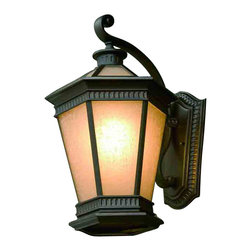 Dolan Designs - Dolan Designs 9798-68 Vintage Winchester Black Outdoor Wall Sconce - Dolan Designs 9798-68 Bronze Outdoor Lighting