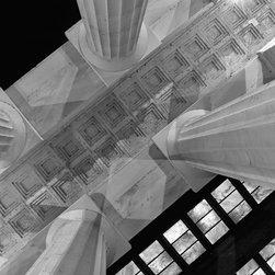 "Lincoln Memorial Print, Black & White, 18"" X 24"" - Lincoln Memorial, Washington DC"