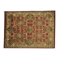 1800-Get-A-Rug - Thick and Plush Rajasthan Hand Knotted 100% Wool Oriental Rug Sh19262 - Thick and Plush Rajasthan Hand Knotted 100% Wool Oriental Rug Sh19262