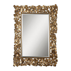 Uttermost - Uttermost 12816 Capulin Antique Gold Mirror - Uttermost 12816 Capulin Antique Gold Mirror