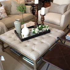 Eclectic Footstools And Ottomans by Miranda Alexander Interiors