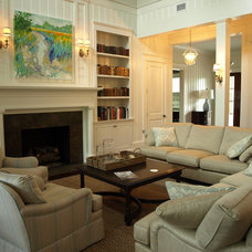 Traditional Living Room by Hansen Architects, P.C.