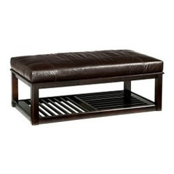 Pullman Cocktail Ottoman - Key Features:
