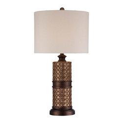 Minka-Lavery - Minka-Lavery 1 Light Table Lamp - 13043-0 - Illumination