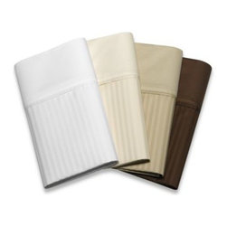 Palais Royale - Palais Royale 630 Stripe 100% Egyptian Cotton Sheet Sets and Pillowcases - These striped cotton sheets have an anti-crease finish that reduces wrinkling. 100% Egyptian cotton with a 630 thread count.