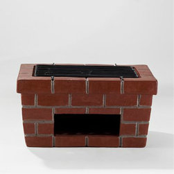 Terracotta Backyard Grill - Form and function meet in this beautifully designed terracotta backyard grill.