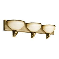 Kichler - Kichler Pierson Bathroom Lighting Fixture in Brass - Shown in picture: Kichler Bath 3-Light Fluorescent in Antique Brass