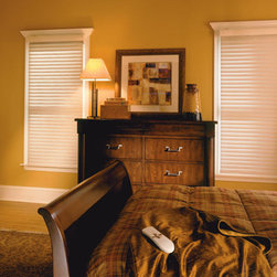 "BlindSaver Advantage 2"" Room Darkening Window Shadings - Both formal and casual, beautiful and functional, the BlindSaver Vienna shades are perfect for any room in your house. The Vienna is comprised of fabric semi-opaque vanes between two sheers and is operated by a standard continuous cord loop system. You will enjoy the versatility of a horizontal blind with the beauty and simplicity of a fabric shade."