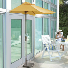 contemporary outdoor umbrellas by Brookstone