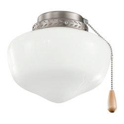 Kichler - Kichler 380064AP 8 Inch School House Light Fixture - Kichler 380064AP 8 Inch School House Light Fixt