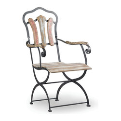 Hooker Furniture - Hooker Furniture Sanctuary Bistro Chair 3009-75300 - Pursue serenity at home... Create your own personal sanctuary, a special place where you can experience... comfort within.