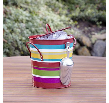 Eclectic Ice Tools And Buckets   by Cost Plus World Market