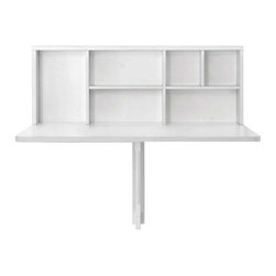Calligaris - Calligaris | Spacebox Wall Mounted Storage Table - Quick Ship - Design by S.T.C.