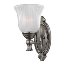 Hinkley - Hinkley-5580PL-Francoise Bath Fixture - Under four generations of family�leadership, Hinkley Lighting has transformed from a small outdoor lantern company to a global brand intent on bringing you the best in style, quality and value. We thrive on personal relationships, regional roots, inspiring design and a family atmosphere that is encouraged at every level of our company. If the past 90 years are any indication, it is with great pride and excitement that we set our sights on the horizon and extend our commitment to keeping your �Life Aglow.�