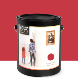 Imperial Paints - Eggshell Wall Paint, Gallon Can, Raspberry Soufflé - Overview: