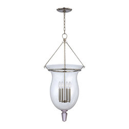 Hudson Valley Lighting - Hudson Valley Lighting 843-PN Ulster 4 Light Chandeliers in Polished Nickel - This 4 light Chandelier from the Ulster collection by Hudson Valley Lighting will enhance your home with a perfect mix of form and function. The features include a Polished Nickel finish applied by experts. This item qualifies for free shipping!
