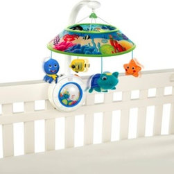 Baby Einstein - Baby Einstein Sweet Sea Dreams Mobile - Soothe baby to sleep with this unique, ocean-themed, musical mobile.