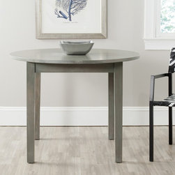Safavieh - Safavieh Holly Grey Dining Table - Fresh from the country,the Holly dining table is transitional enough for today's rustic chic style.