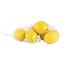 Saro - Faux Lemons SET/6 - Stage a faux citrus bowl or place along a summer runner for a pop of fresh color.