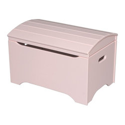 Little Colorado - Little Colorado Solid Wood Toy Storage Chest - Soft Pink - 053SP - Shop for Childrens Toy Boxes and Storage from Hayneedle.com! Bring a little more to your little girl's room with the Little Colorado Solid Wood Toy Storage Chest - Soft Pink No Personalization. The 37 lb. hardwood body has a gentle pink finish and a lid that moves on smooth locking hinges. Some assembly is required.Little Colorado is a Green CompanyAll finishes are water-based low-VOC made by Sherwin Williams and other American manufacturers. Wood raw materials come from environmentally responsible suppliers. MDF used is manufactured by Plum Creek and is certified green CARB-compliant and low-formaldehyde. All packing insulation is 100% post-consumer recycled. All shipping cartons are either 100% post-consumer recycled or are made of recycled cardboard.About Little ColoradoBegun in 1987 Little Colorado Inc. creates solid wood hand-crafted children's furniture. It's a family-owned business that takes pride in building products that are classic stylish and an excellent value. All Little Colorado products are proudly made in the U.S.A. with lead-free paints and materials. With a look that's very expensive but a price that is not Little Colorado products bring quality and affordability to your little one's room.