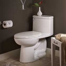 American Standard Compact Cadet 3 FloWise One-Piece Toilet - Smarter design for higher performance and fewer clogs – all at a great price. The Cadet® 3 series toilets come in a variety of styles; one piece and two piece models, elongated and round front bowls, right height and compact versions and even water efficient models that flush on just 1.28 gallons per flush. The Cadet 3 is a hard working versatile series with superior performance.