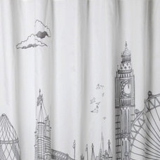 Eclectic Shower Curtains by Henry's Purveyor of Fine Things