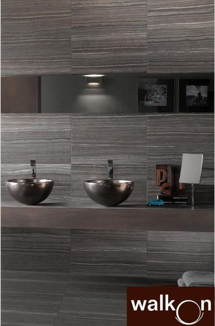Contemporary Tile by WalkOn Tile