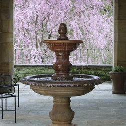 Campania - San Pietro Tiered Fountain -