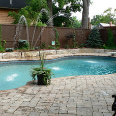 Modern Hot Tub And Pool Supplies by Waterworld Pools