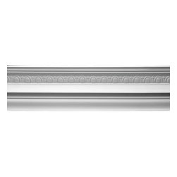 Renovators Supply - Cornice White Urethane Meadowlark Cornice   12365 - Cornices: Made of virtually indestructible high-density urethane our cornice is cast from steel molds guaranteeing the highest quality on the market. High-precision steel molds provide a higher quality pattern consistency, design clarity and overall strength and durability. Lightweight they are easily installed with no special skills. Unlike plaster or wood urethane is resistant to cracking, warping or peeling.  Factory-primed our cornice is ready for finishing.  Measures 6 3/4 inch H x 77 1/2 inch L.