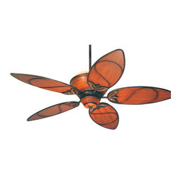 Tommy Bahama - Tommy Bahama Paradise Key Ceiling Fan in Distressed Bronze - Tommy Bahama Paradise Key Model TB-TB301MAB in Distressed Bronze with Medium Antique Brown Finished Blades.