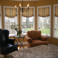 traditional roman blinds by JMittman Designs