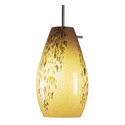 Bruck Lighting - Bruck Lighting 110812bz/mp Soho 120 Vanilla Glass By - Bruck Lighting 110812bz/mp Soho 120 Vanilla Glass by