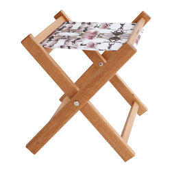 Gallant & Jones - Blossomed Deck Stool - Stool with Fabric Sling