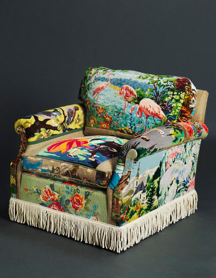Eclectic Armchairs by Suzie-Stanford