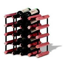 Franmara - Monterey Wine Racks Modular Hardwood and Steel 20-Bottle Rack Kit - This gorgeous Monterey Wine Racks Modular Hardwood and Steel 20-Bottle Rack Kit has the finest details and highest quality you will find anywhere! Monterey Wine Racks Modular Hardwood and Steel 20-Bottle Rack Kit is truly remarkable.