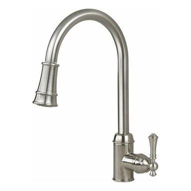 Artisan Manufacturing - Artisan Premium Pull-out Satin Nickel Faucet - AF-410-SN Artisan Manufacturing Premium Pull-out Satin Nickel Kitchen Faucet