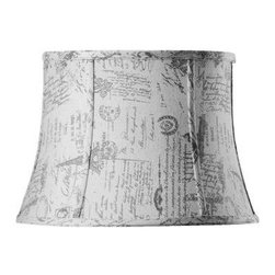 Home Decorators Collection - Home Decorators Collection Tapered Medium 16 in. Diameter French Script Linen Dr - Shop for Lighting & Fans at The Home Depot. Bring the calm style and gentle shape of our Tapered Drum Linen Lamp Shade into your home for a lasting look. The flowing lines and ribbed shape will add that touch of elegance you've been looking for. Order yours today.