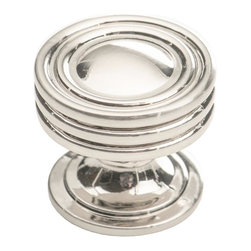 Southern Hills - Brushed Nickel Cabinet Knobs by Southern Hills, Round, Pack of 10 Knobs. - Is your kitchen looking a little dated? The good news is that a new look is as close as this round brushed nickel cabinet knob from Southern Hills.  The satin nickel complements a wide variety of cabinet finishes and lends an updated look to your kitchen or bath. In fact, this cabinet hardware won't just lend your space a fresh look; you'll get to keep it!  Pack of 10 knobs.