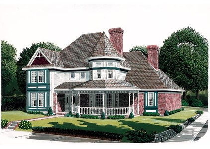 Traditional Rendering by Family Home Plans