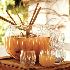 eclectic barware by Pottery Barn