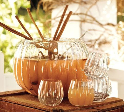 Eclectic Punch Bowls by Pottery Barn