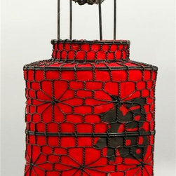 Oriental Unlimited - Red Chinese Prosperity Lantern - Features Chinese characters for Good Fortune. No assembly required. 10 in. HRaising the Red lantern during Chinese New Year is a 500-year-old Tuntou tradition. They are said to bring good luck and prosperity to those who hang them. Because the lantern is a symbol of luck, the place that it is hung will become prosperous and flourishing.