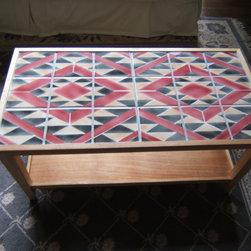 Navajo Rug Design Tile Coffee Table - Photo copyright: George Woideck